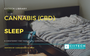Cannabis Cheatsheet Sleep disorders CBD Cannabis Oil UK