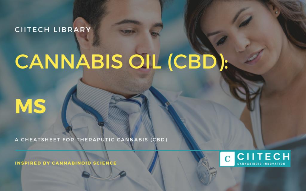 Cannabis Cheatsheet MS CBD Cannabis Oil UK