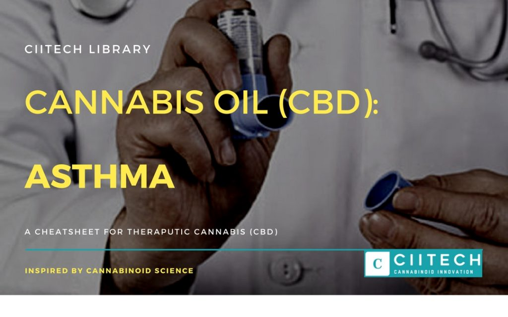 Cannabis Cheatsheet Asthma CBD Cannabis Oil UK