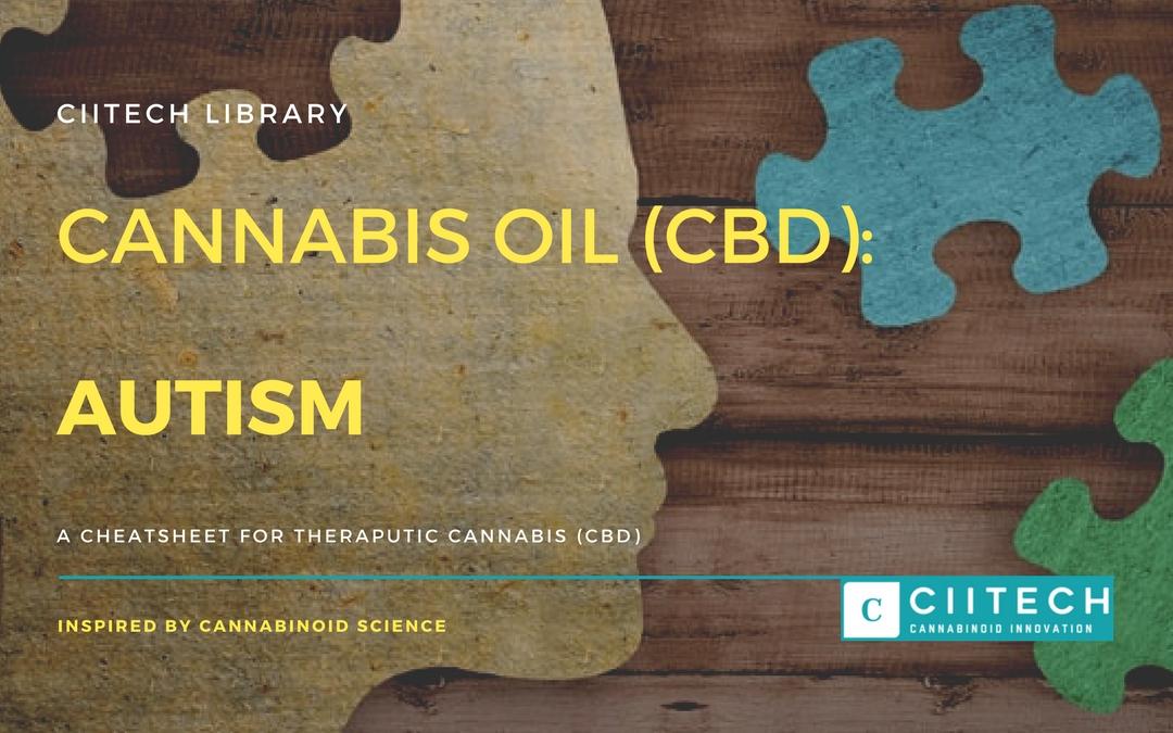 CBD Cheat-sheet: Cannabis and Autism