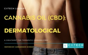 Cannabis Cheatsheet Dermatological CBD Cannabis Oil UK