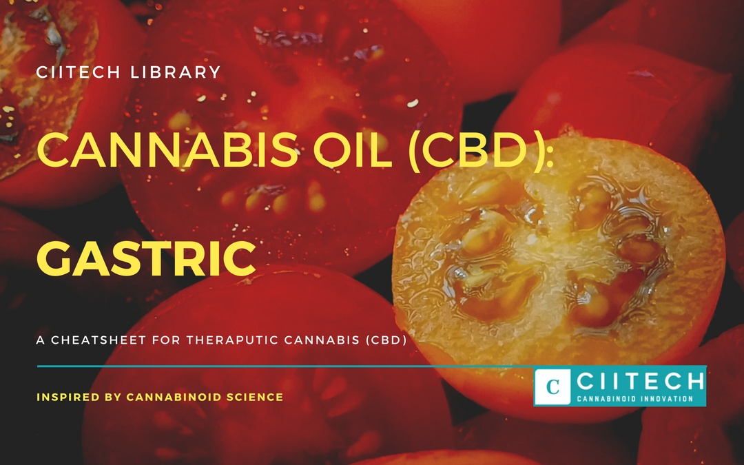 CBD Cheat-sheet: Cannabis and Gastric Disease