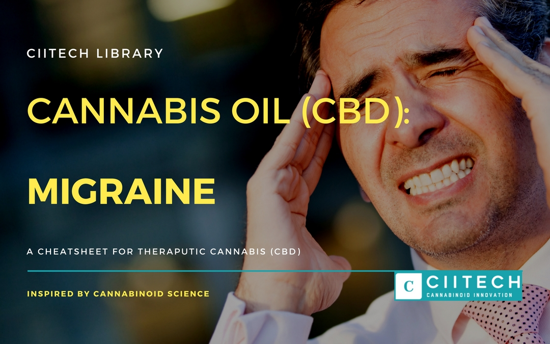 CBD Cheat-sheet: Cannabis and Migraine