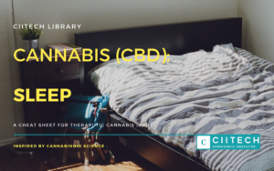Cannabis Cheat sheet Sleep CBD Cannabis Oil UK