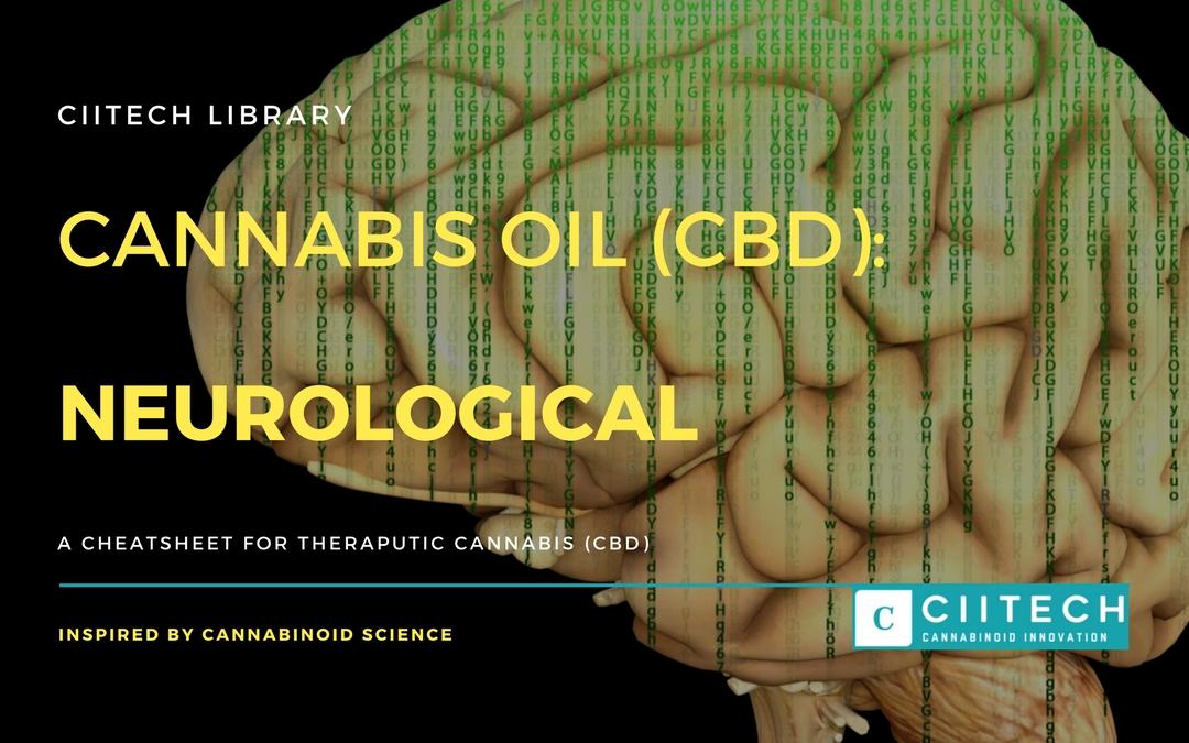 CBD Cheat-sheet: Cannabis and Neuro-Degeneration