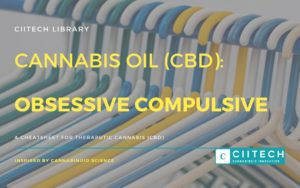 Cannabis Cheatsheet OCD CBD Cannabis Oil UK