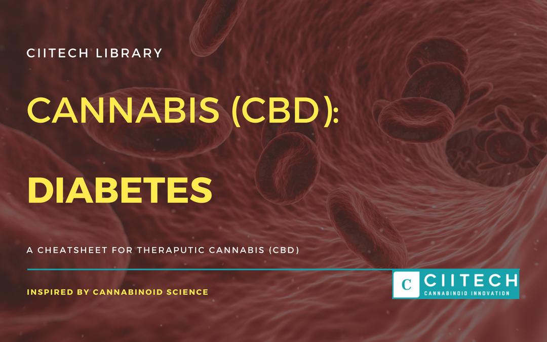CBD Cheat-sheet: Cannabis and Diabetes