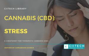 Cannabis Cheatsheet stress CBD CBDUK