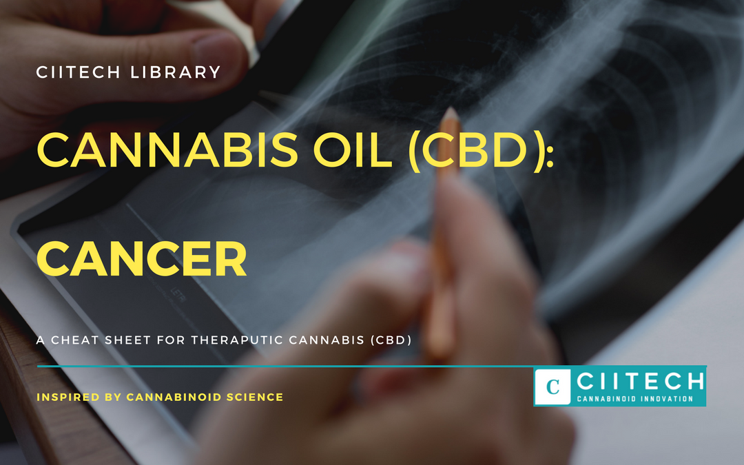 CBD Cheat-sheet: Cannabis and Cancer