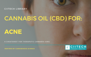 Cannabis Cheetsheet Acne CBD Cannabis Oil UK