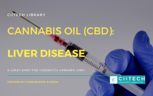 Cannabis Cheatsheet Liver Disease CBD Cannabis Oil UK