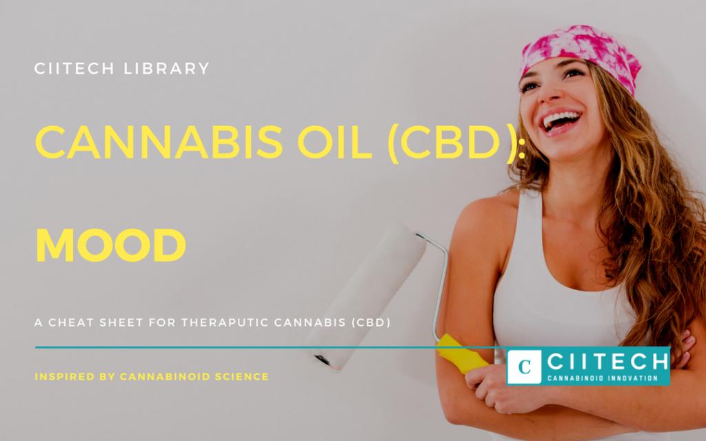 Cannabis Cheatsheet Mood Depression CBD Cannabis Oil UK