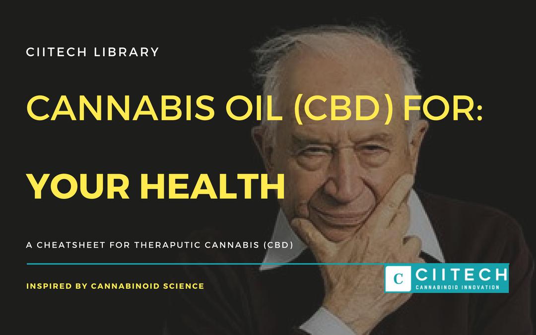 CBD Cheat-sheet: Cannabis for Health