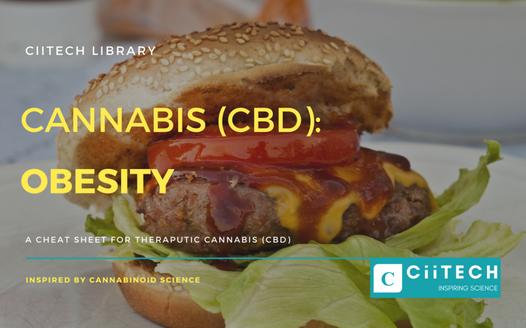Cannabis Cheatsheet Obesity CBD Cannabis Oil UK
