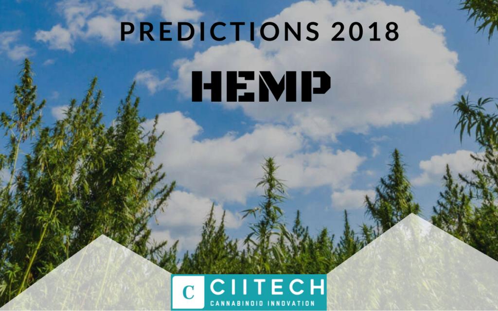 HEMP CBD Predictions for 2018 UK CBD