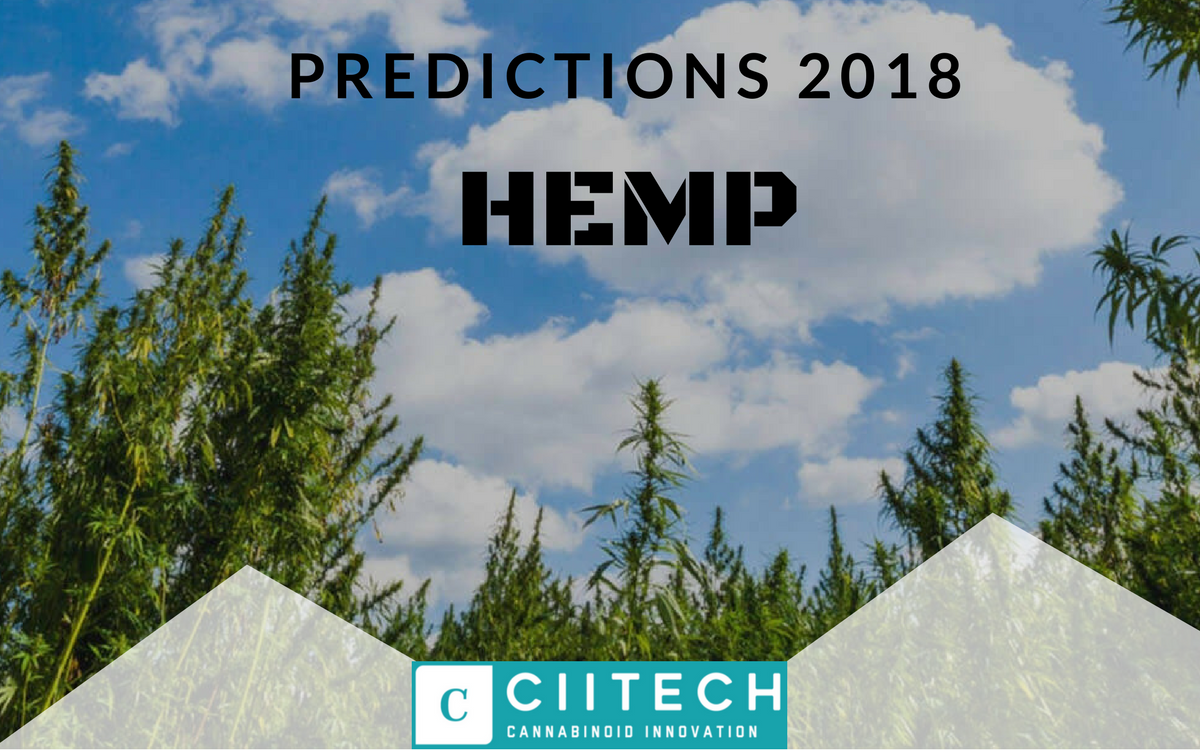 2018 The Year Hemp Assumes it's Rightful Place on the Throne of Therapeutics