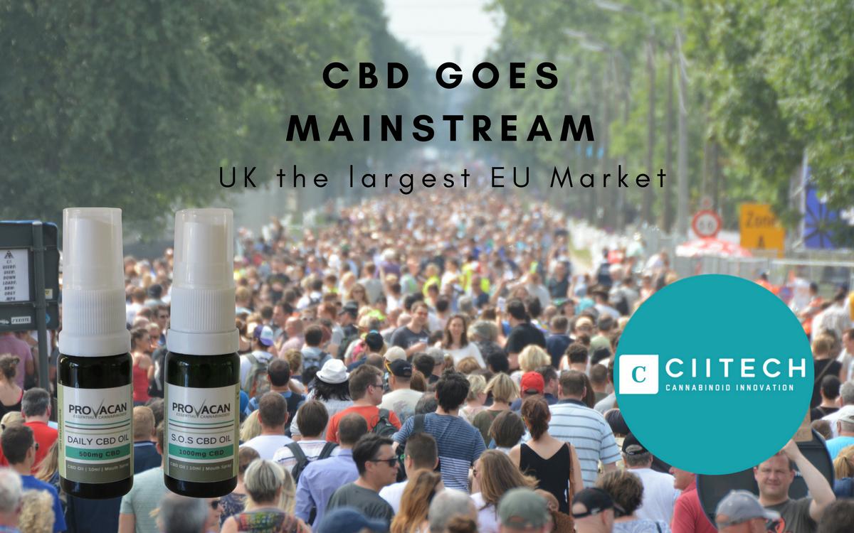 CBD goes mainstream in the UK