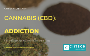 Cannabis Cheat sheet Addiction CBD Cannabis Oil UK