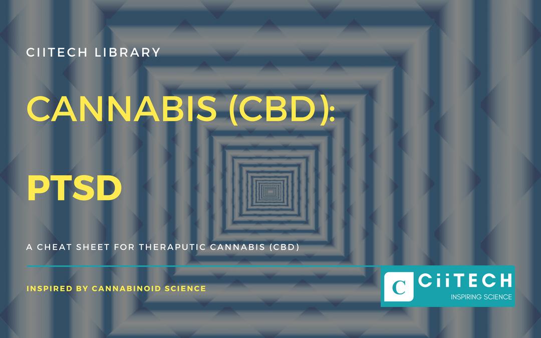 Cannabis Cheat sheet PTSD CBD Cannabis Oil UK