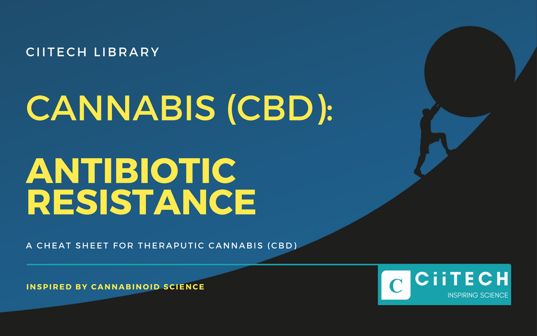 ANTIBIOTIC RESISTANCE: Cannabis (CBD) Cheat-sheet