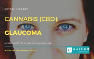 Cannabis Cheat sheet Glaucoma CBD Cannabis Oil UK