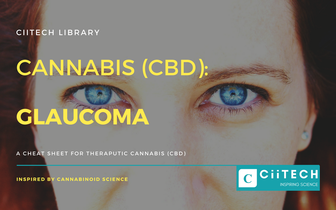 CBD Cheat-sheet: GLAUCOMA