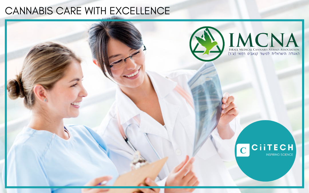 CiiTECH proudly partners with IMCNA (Israel Medical Cannabis Nurses Association).