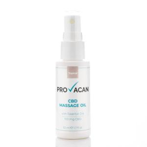 Provacan massage oil