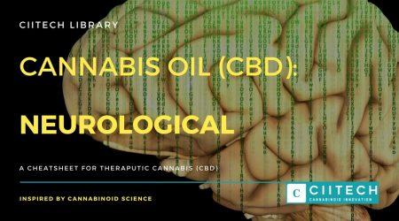 Cannabis Cheatsheet neurological CBD Cannabis Oil UK