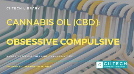 Cannabis Cheatsheet OCD CBD Cannabis Oil UK