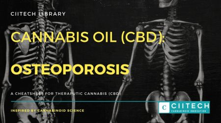 Cannabis Cheatsheet osteoporosis CBD Cannabis Oil UK