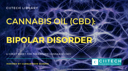 Cannabis Cheatsheet Bipolar Disorder CBD Cannabis Oil UK