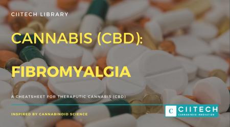 Cannabis Cheatsheet fibromyalgia CBD Cannabis Oil UK