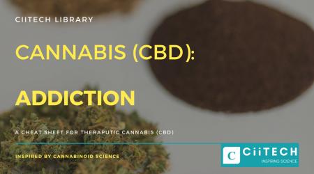 Cannabis Cheat sheet Addiction CBD Cannabis Oil UK