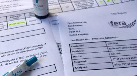 cbd lab report